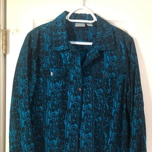 Chico's button down shirt or jacket